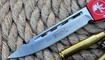фронтальный нож Microtech HALO 5 Drop Point Киев