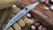 EDC нож из дамасской стали фото