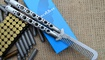 Тренировочный нож бабочка Benchmade 41 с расческой купить