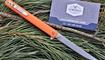 Туристический нож Fisherman Slim Flipper TC027 оранж Мариуполь