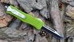 Выкидной нож Microtech Combat Troodon tanto green купить
