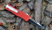 Выкидной нож Microtech Combat Troodon tanto red
