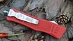 Выкидной нож Microtech Combat Troodon tanto red в Херсоне