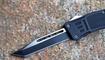 Выкидной нож Microtech Combat Troodon tanto black купить