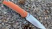 Нож Y-START JIN01 orange4