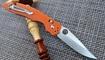 Нож Benchmade Harley orange недорого