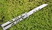 Нож бабочка Microtech Tachyon II white tanto