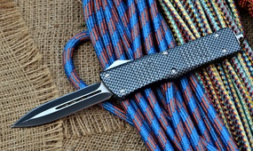 Автоматический выкидной нож Microtech Combat Troodon