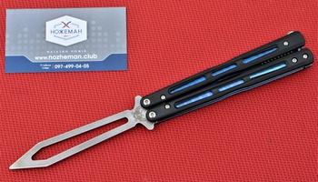 Балисонг Benchmade 51 Flytanium Zenith Trainer Blade