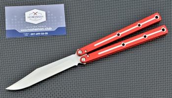 Балисонг Squid Industries Krake Raken Red Dual Tone