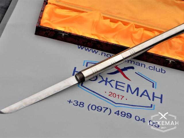 Боевой куботан с ножом