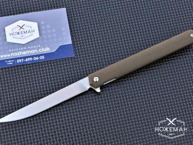 EDC нож Fisherman Slim G10 Flipper TC027