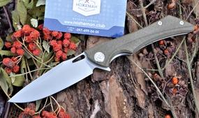 Нож Kubey Raven KB245B