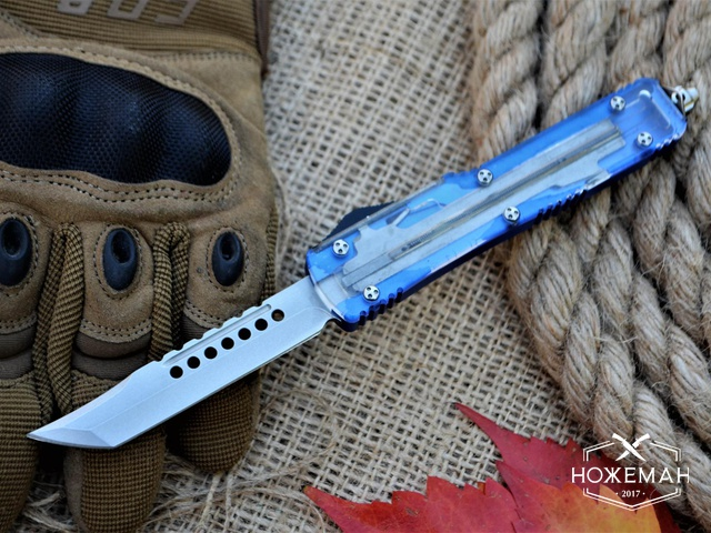 Фронталка Ultratech Hellhound Tanto Clear Top CC