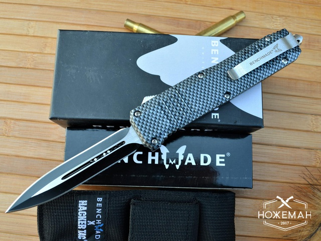 Фронтальный нож Benchmade Turmoil Limited Edition