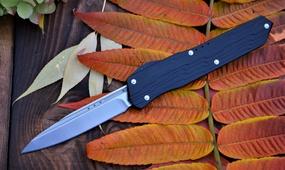 Фронтальный нож Microtech Cypher Automatic