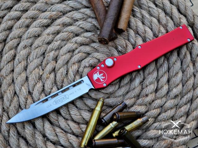 Фронтальный нож Microtech HALO 5 Drop Point