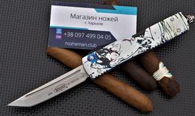 Фронтальный нож Microtech Ultratech Geisha