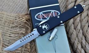 Фронтальный нож Microtech Ultratech Hellhound Tanto