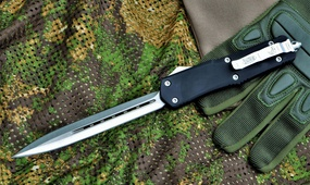 Фронтальный нож Microtech Venomtech