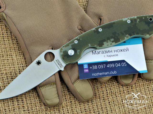 Качественная реплика нож Spyderco Military C36