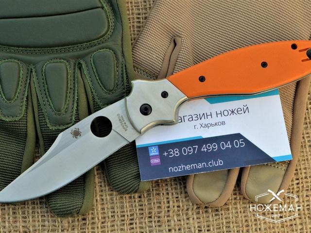 Нож Spyderco Schempp Bowie C190