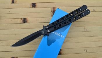 Нож бабочка Benchmade Black Fang