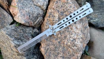 Нож бабочка Benchmade тренировочный