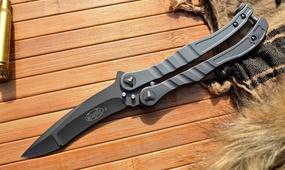 Нож бабочка Microtech Metalmark