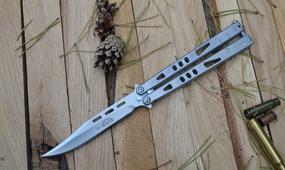 Нож бабочка Microtech Tachyon II satin blade