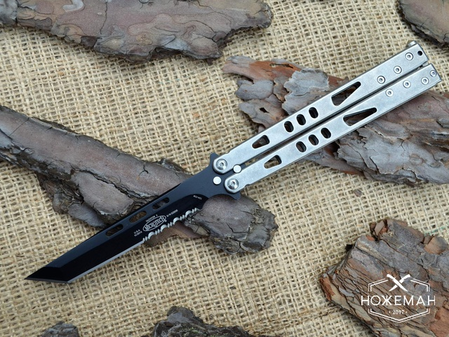 Нож бабочка Microtech Tachyon II tanto