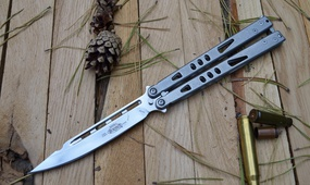 Нож бабочка Microtech Tachyon Mirror