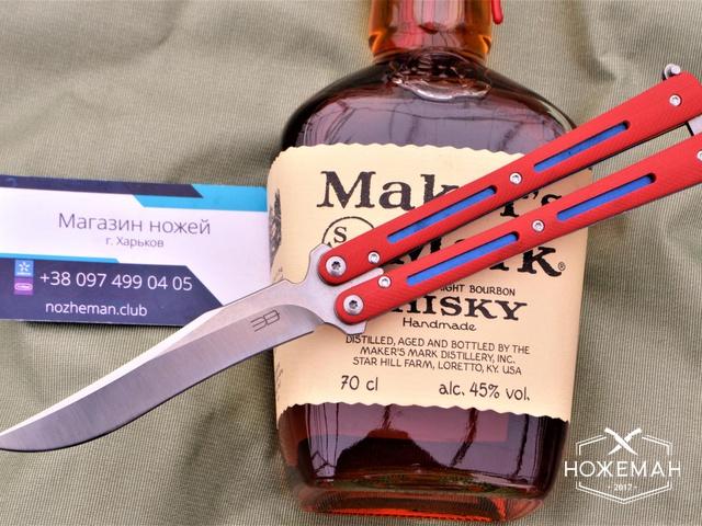 Нож бабочка на подшипниках ELB Mamba
