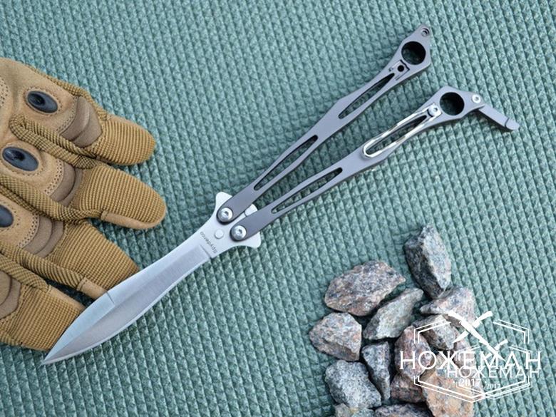 Нож бабочка Spyderco