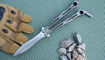 Нож бабочка Spyderco Spyderfly