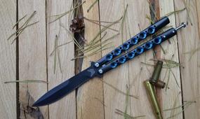 Нож бабочка The One BM42 all black