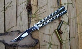 Нож бабочка The One BM43 Mirror (без лого)