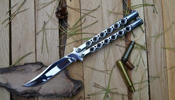 Нож бабочка The One BM43 Mirror