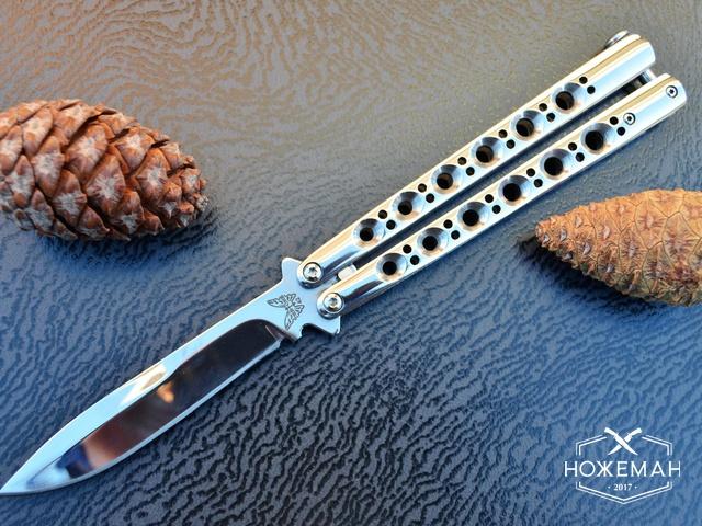 Нож бабочка The One mirror BM42