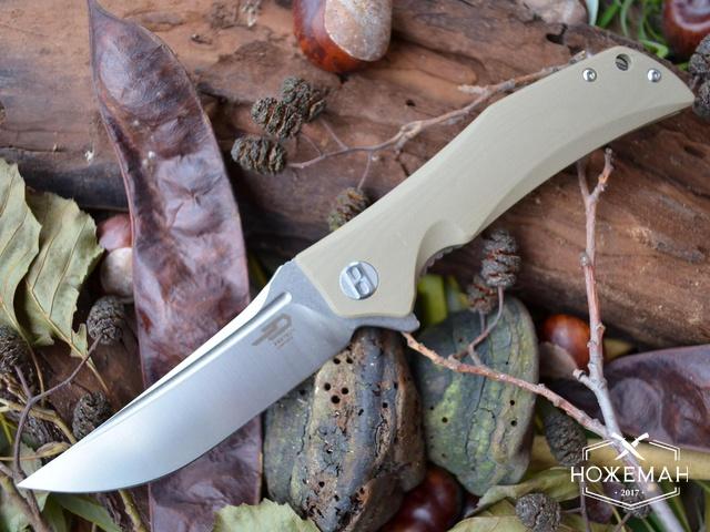 Нож Bestech Knives Scimitar desert