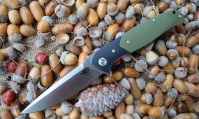 Нож Bestech Knives Swordfish green