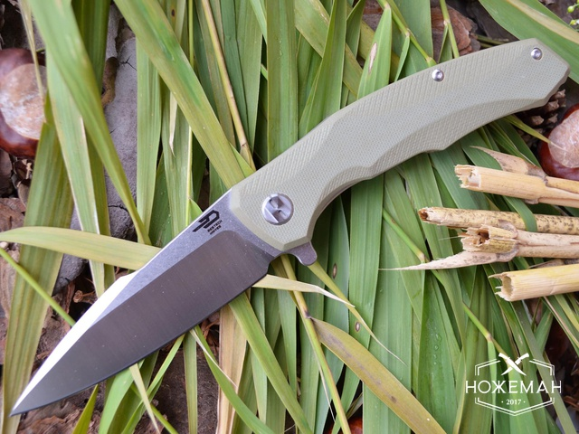 Нож Bestech Knives Warwolf desert
