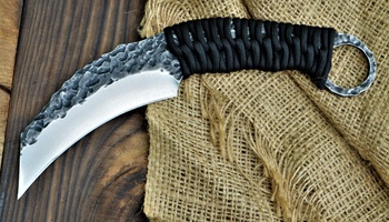 Керамбит Wolverine Knives реплика Black Dragon Forge Karambit