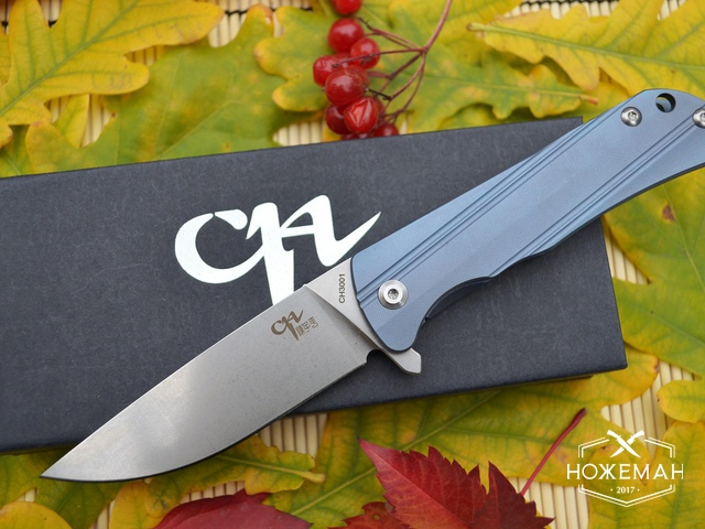 Нож CH OUTDOOR CH3001 blue
