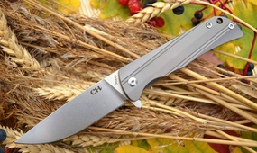 Нож CH outdoor CH3001 gray