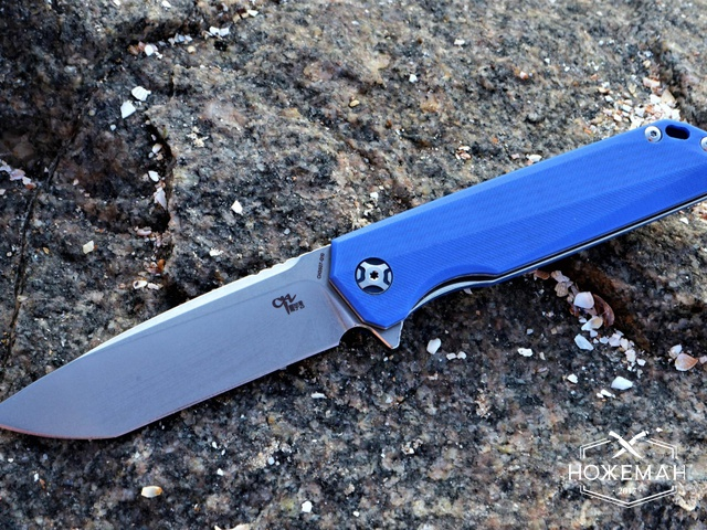 Нож CH Outdoor CH3507 G10 Blue