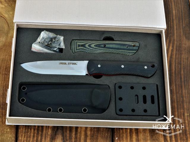 Нож для бушкрафта RealSteel Bushcraft individual