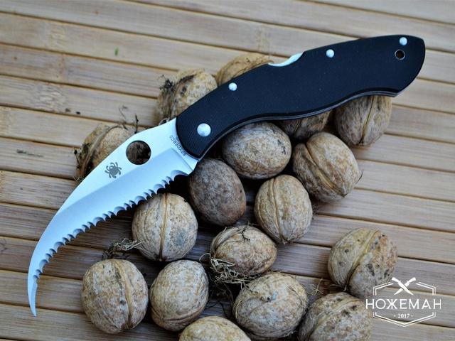 Нож для самообороны Spyderco Civilian