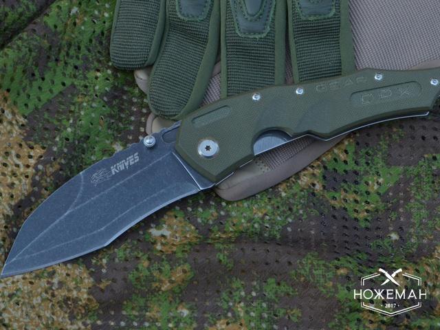 Нож Lion Knives реплика Dwaine Carrillo M250 Cobra M5