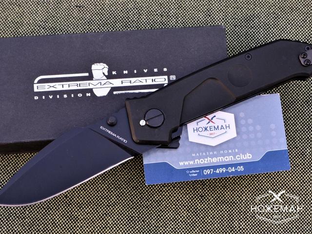 Нож Extrema Ratio MF1 Black Ruvido